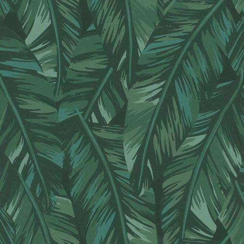 Vliestapete Blätter Gezeichnet grün Jungle Fever 139016 online kaufen