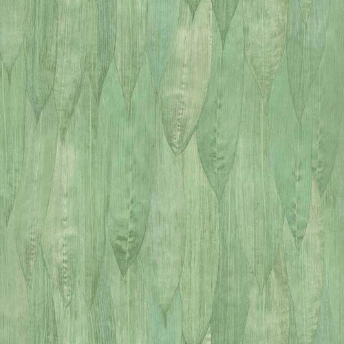 Vliestapete Blätterdach Floral grünbraun 138986