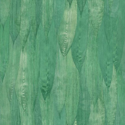 Non-Woven Wallpaper Reed Leaves Floral green 138987 online kaufen