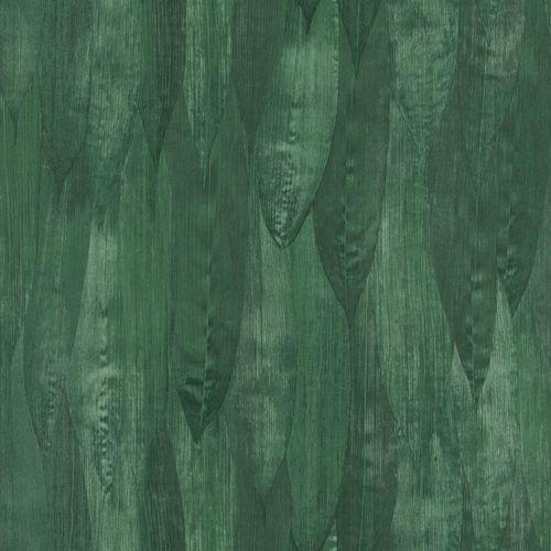 Vliestapete Blätterdach Floral dunkelgrün 138988