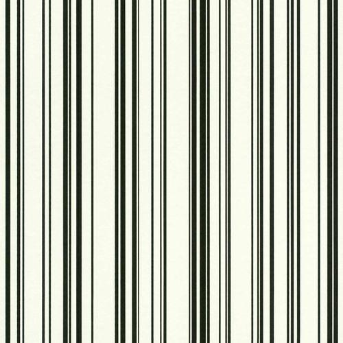 Vliestapete Nadelstreifen Muster weiß schwarz 138982 online kaufen