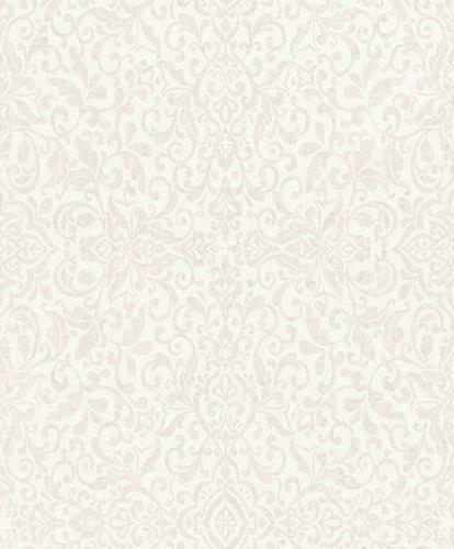 Vliestapete Ornament Orient grau silber Metallic 296029