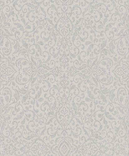 Non-Woven Wallpaper Baroque grey silver Gloss 296159 online kaufen