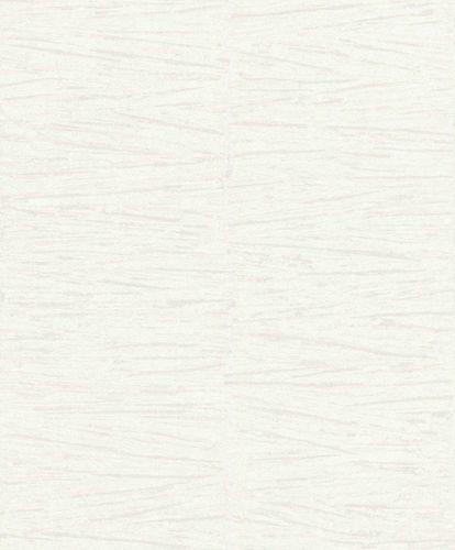 Non-Woven Wallpaper Lines Plaster white grey Gloss 296241 online kaufen