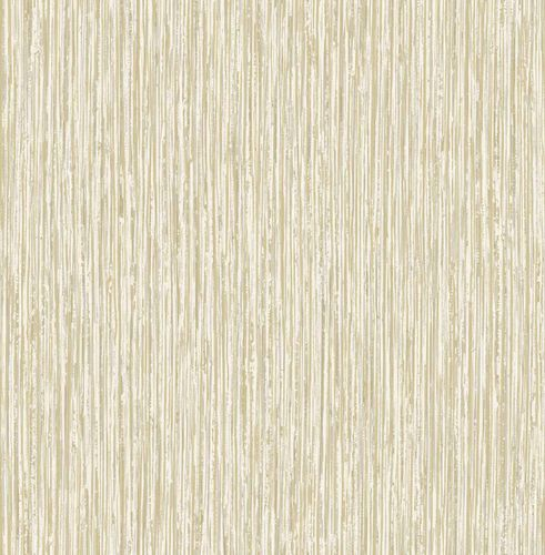 Non-woven Wallpaper Lines Wood gold white Gloss 124916 online kaufen