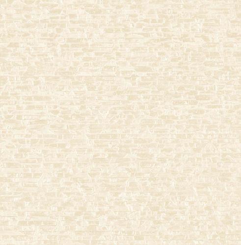 Tapete Vlies Klinker creme Glanz Artisan 124921