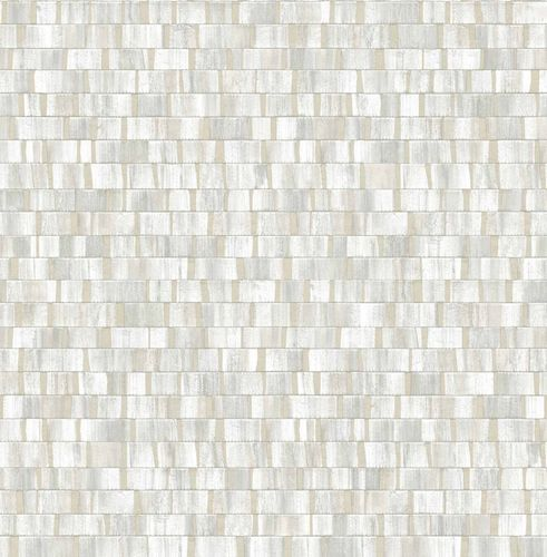 Non-woven Wallpaper Wood Stripes grey white 124922 buy online