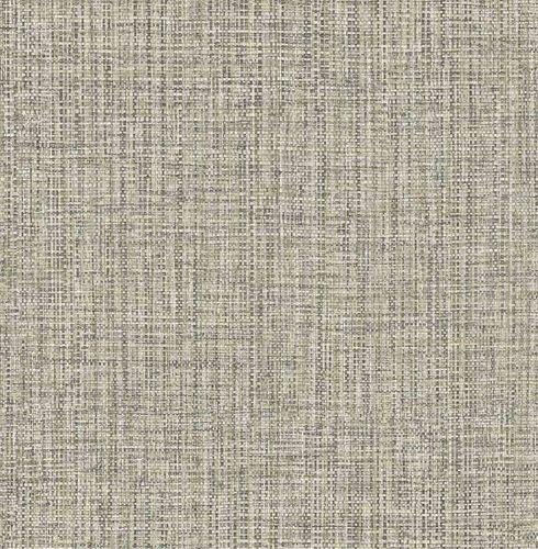 Non-woven Wallpaper Textile Look cream grey Gloss 124941