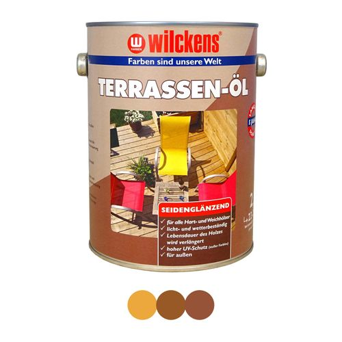 Wilckens Terrace Oil 2,5 l Glaze for Terrace Wood online kaufen