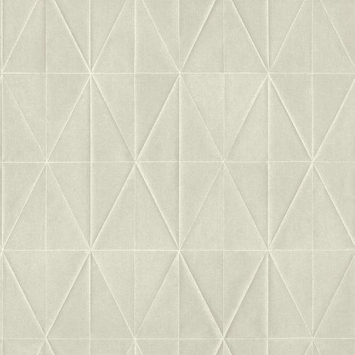 Non-Woven Wallpaper Rhombus 3D light grey Blush 148714 online kaufen