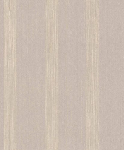 Textiltapete Muster Gestreift graubeige Glanz 086064 online kaufen