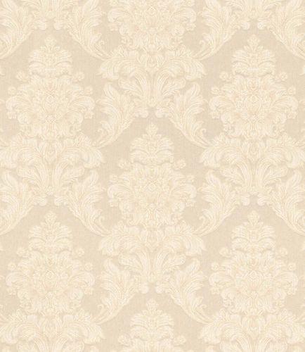 Textiltapete Ornament Floral creme Glanz Mondaine 086200 online kaufen
