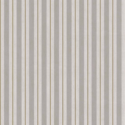 Vinyl Wallpaper stripped pattern taupe gold brown 007875 online kaufen