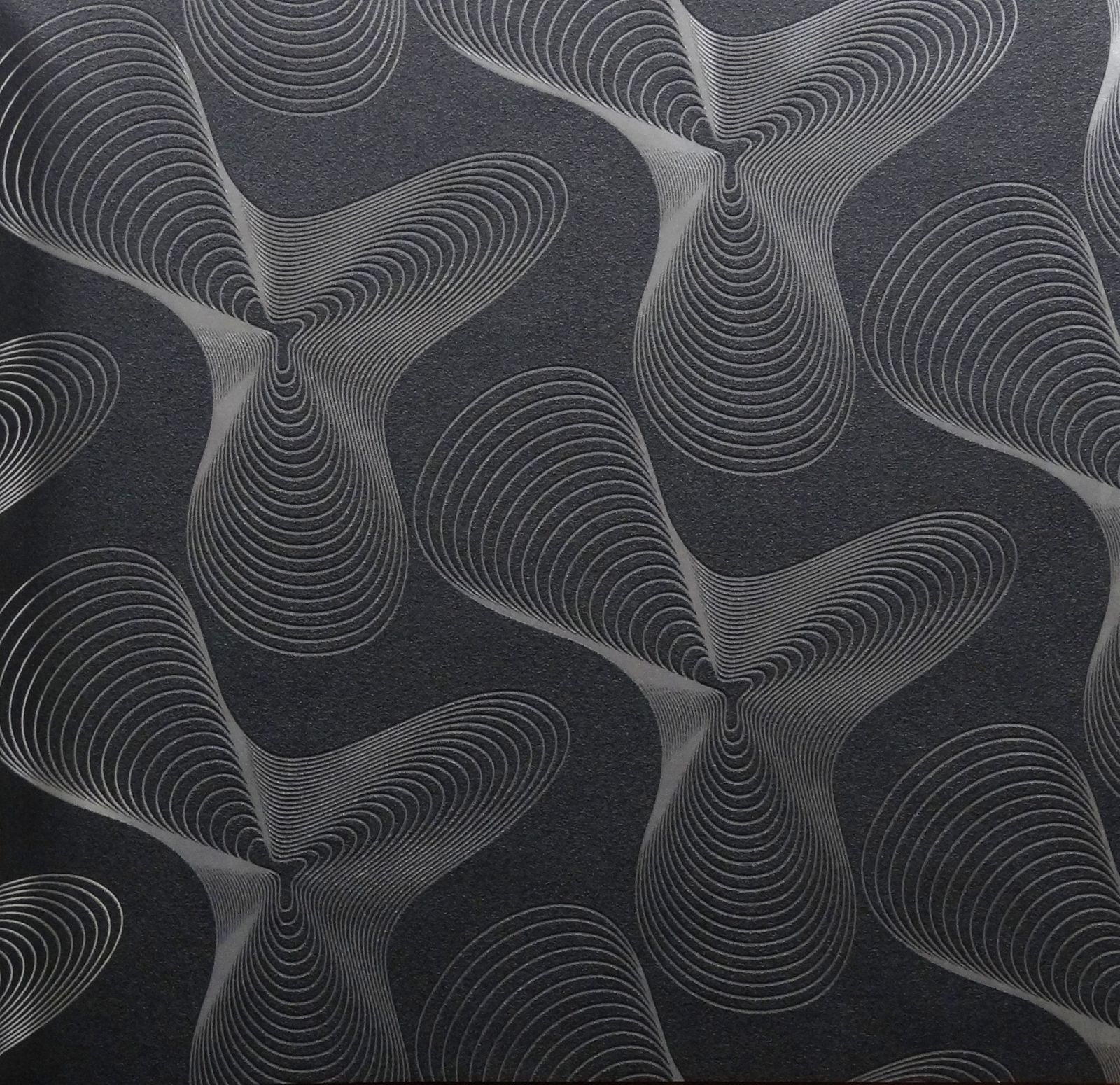 marburg designtapete karim rashid tapete 52017 silber schwarz. Black Bedroom Furniture Sets. Home Design Ideas