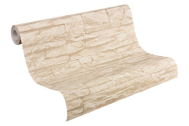 Vlies Tapete Steinoptik Naturstein beige AS Creation 7071-30