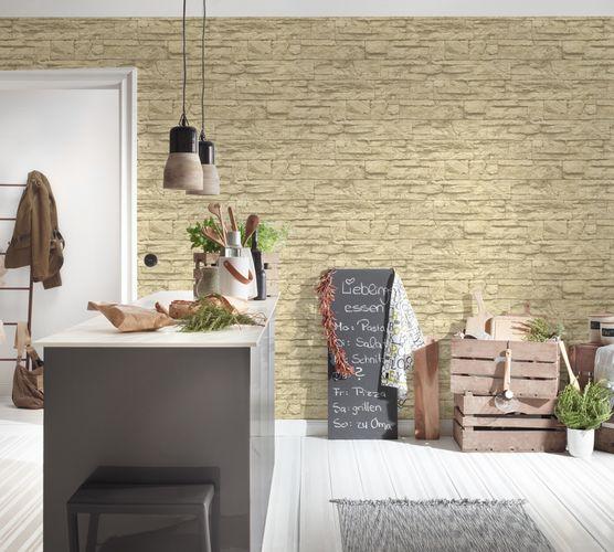 Vlies Tapete Steinoptik Naturstein beige AS Creation 7071-30 online kaufen