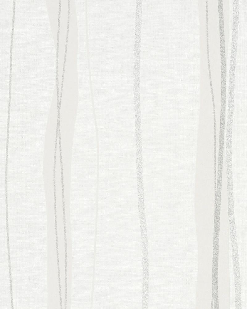 vliestapete struktur wellen wei beige glitzer 53618. Black Bedroom Furniture Sets. Home Design Ideas