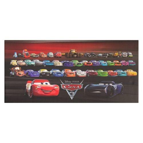 Disney Leinwandbild Cars 3 Alle Freunde rot Keilrahmen  online kaufen