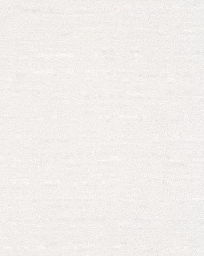 Tapete Vlies Einfarbig Glitzer weiß Ella 6751-10