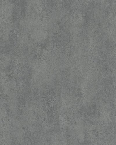 Non-woven wallpaper plaster texture light grey 6756-60 online kaufen