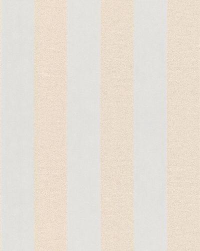Tapete Vlies Blockstreifen Glitzer creme beige 6752-30