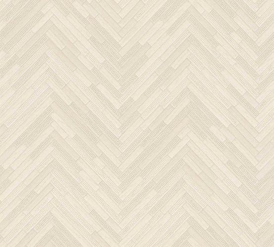 Wallpaper Versace Home Herringbone Ornament cream Gloss 370515 online kaufen