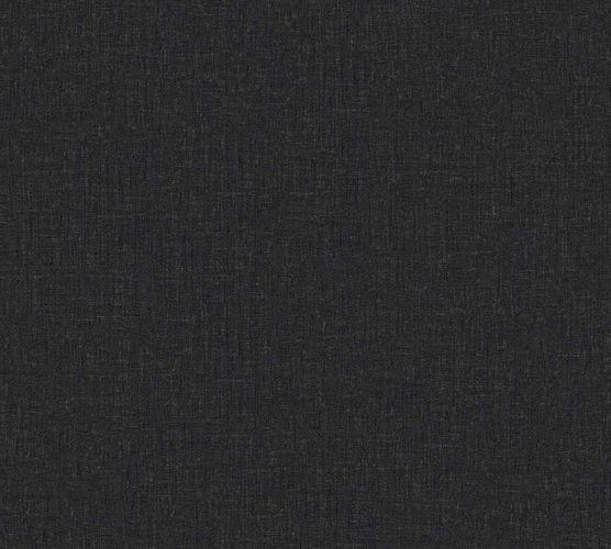 Versace Home Tapete Textilstruktur schwarz Glanz 962339