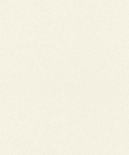 Non-Woven Wallpaper Plain cream white Gloss Rasch 530216
