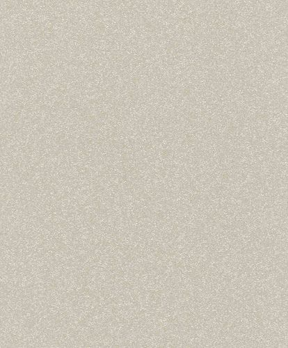 Non-Woven Wallpaper Plain light taupe Gloss Rasch 530292