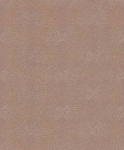 Tapete Vlies Sterne Grafik rosé-beige Glanz Rasch 530551