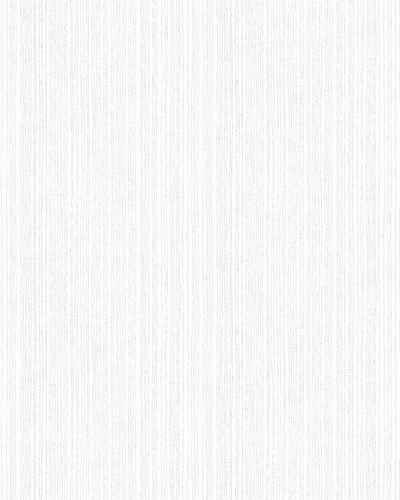 Tapete Vlies Striche Streifen weiß Glitzer 6741-10