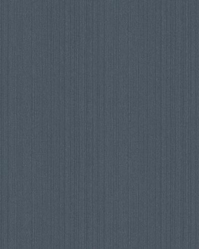 Non-Woven Wallpaper Stripes midnight blue Glitter 6741-40