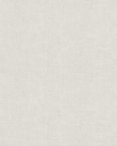 Tapete Vlies Gitterstruktur graubeige Glanz 6746-30 online kaufen