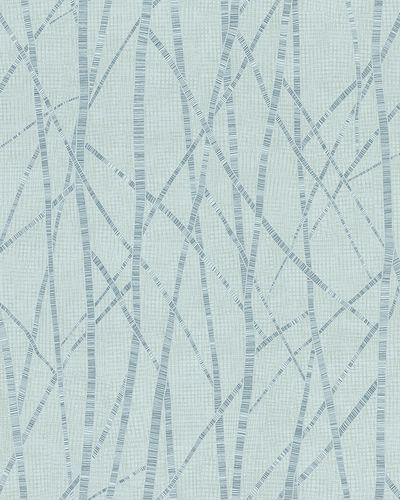 Non-Woven Wallpaper Branch Pattern green blue Gloss 6747-10 online kaufen