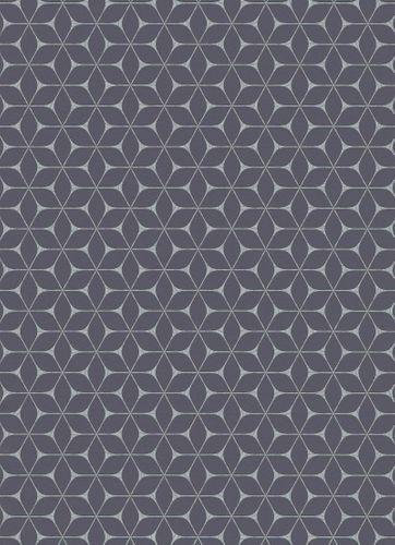 Tapete Vlies Grafisch Modern schwarz Metallic 10025-15 online kaufen