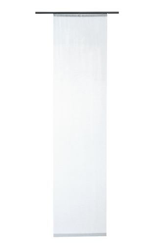 Panel Curtain Luis transparent plain white 5405-25 online kaufen