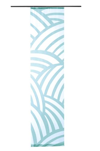 Panel Curtain Lukas transparent woven petrol 5406-00 online kaufen