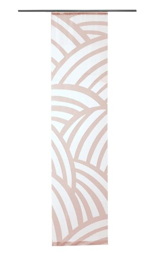 Panel Curtain Lukas transparent woven rosé 5406-17 online kaufen