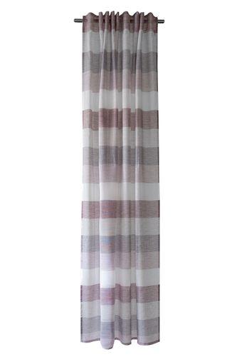 Loop Curtain semi-transparent strokes berry 5099-11