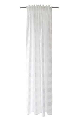 Loop Curtain semi-transparent striped white 5402-04 online kaufen