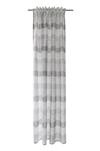 Loop Curtain semi-transparent striped grey 5396-11 online kaufen