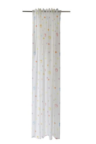 Loop Curtain transparent spots watercolour colourful 5418-05 online kaufen