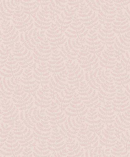 Tapete Vinyl Blätter Klein rosa GranDeco Sarafina SN3106
