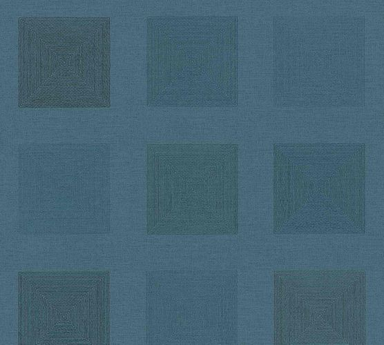 Vinyl Wallpaper Tiles Graphic blue A.S. Création 37172-1 online kaufen