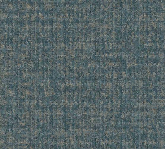 Vinyltapete Mosaik Boho blau bronze 37173-1 online kaufen