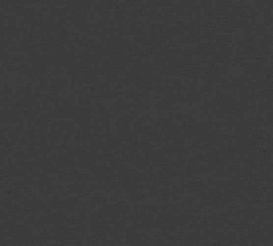 Vinyltapete Leinen Struktur Schwarz 37178-1 online kaufen