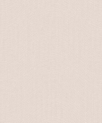 Tapete Vlies Wellen Textil beigebraun Glitzer ON1101