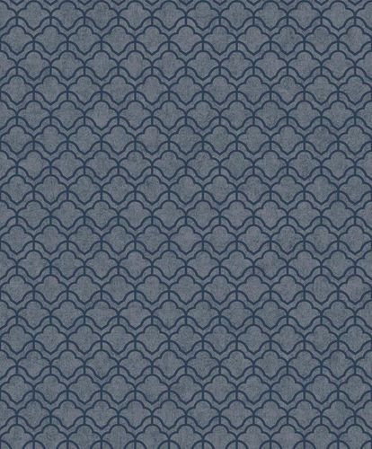 Tapete Vlies Abstrakt Grafisch blau Metallic ON3302 online kaufen