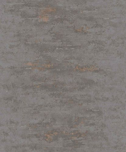 Tapete Vlies Beton Used dunkelgrau kupfer Metallic ON4201 online kaufen