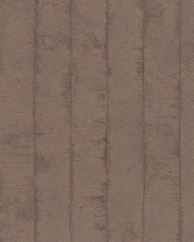 Tapete Vlies Balken Beton kupfer braun metallic 31613 online kaufen